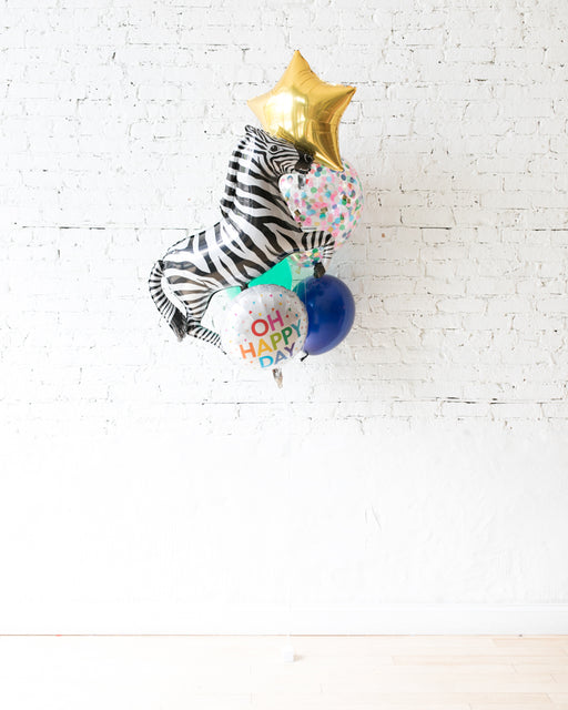 GIFT-Zebra Balloon Bouquet
