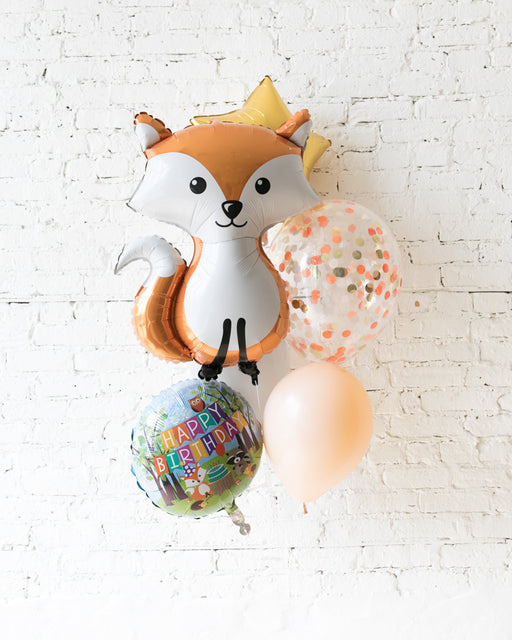 GIFT-Fox Balloon Bouquet