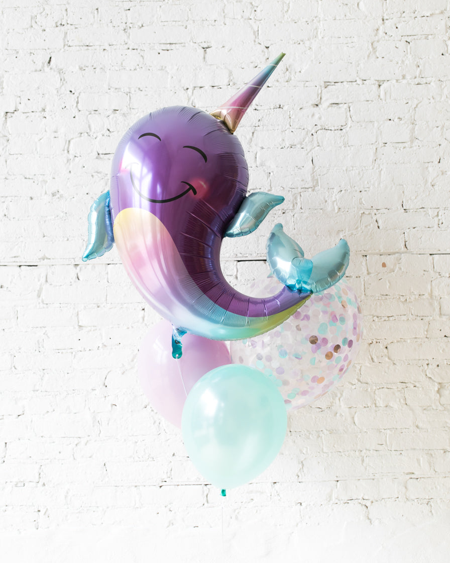 GIFT-Narwhal Balloon Bouquet