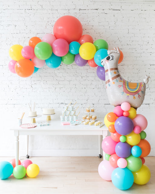 Fiesta Theme - Floating Arch & Llama Column Set
