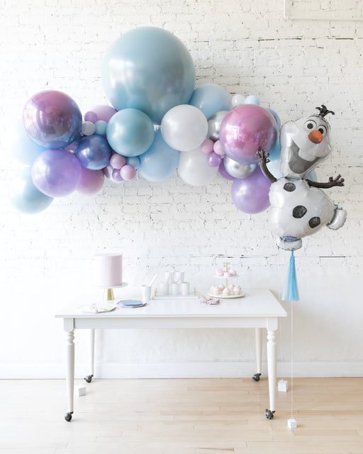 Frozen Theme - Floating Arch & Foil Balloon Set