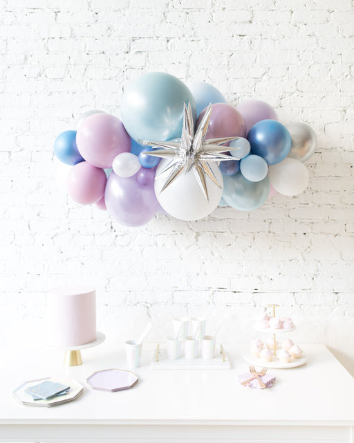Frozen Theme - Magic Star Backdrop Balloon Garland Install Piece - 3ft