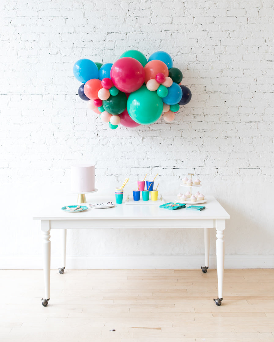 Party Animal Theme - Backdrop Balloon Garland Install Piece - 3ft