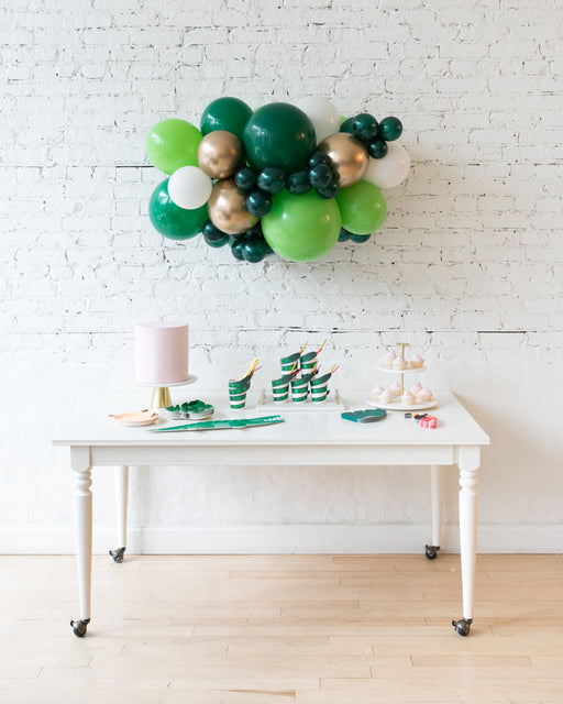 Jungle Theme - Backdrop Balloon Garland Install Piece - 3ft