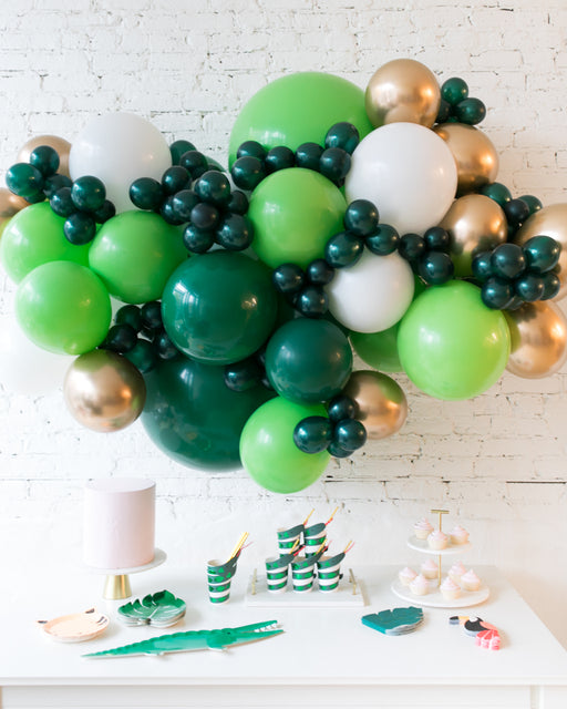 Jungle Theme - Backdrop Balloon Garland Install Piece - 6ft