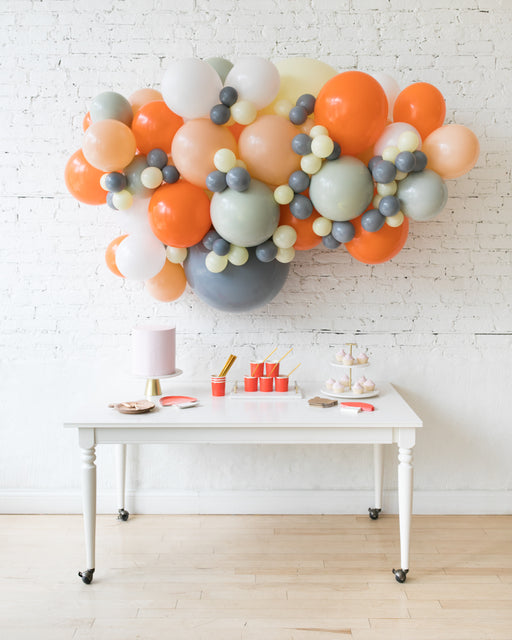 Woodland Theme - Backdrop Balloon Garland Install Piece