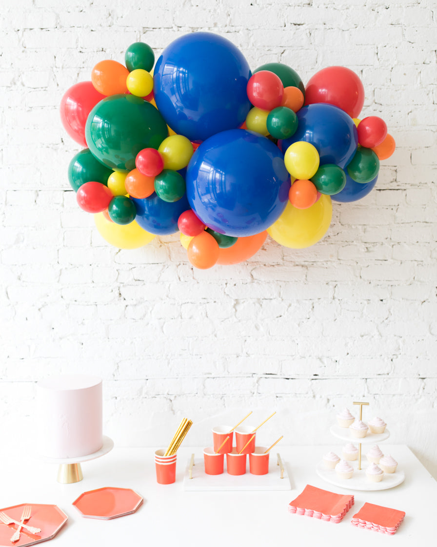 Sesame Street Theme - Backdrop Balloon Garland Install Piece - 3ft