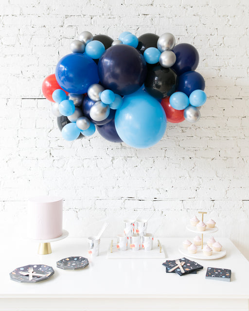 Space Theme - Backdrop Balloon Garland Install Piece - 3ft