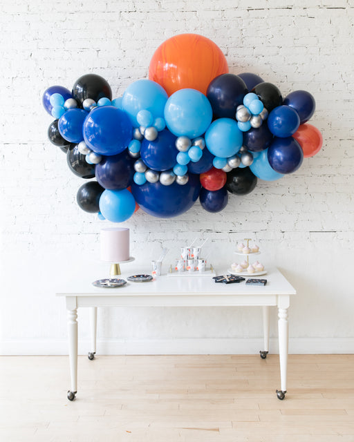 Space Theme - Backdrop Balloon Garland Install Piece - 6ft