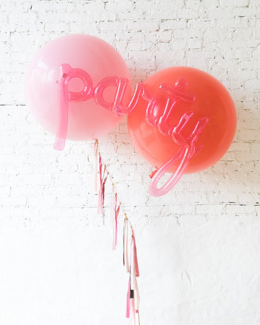 GIFT-Pink & Coral Giant Party Bouquet