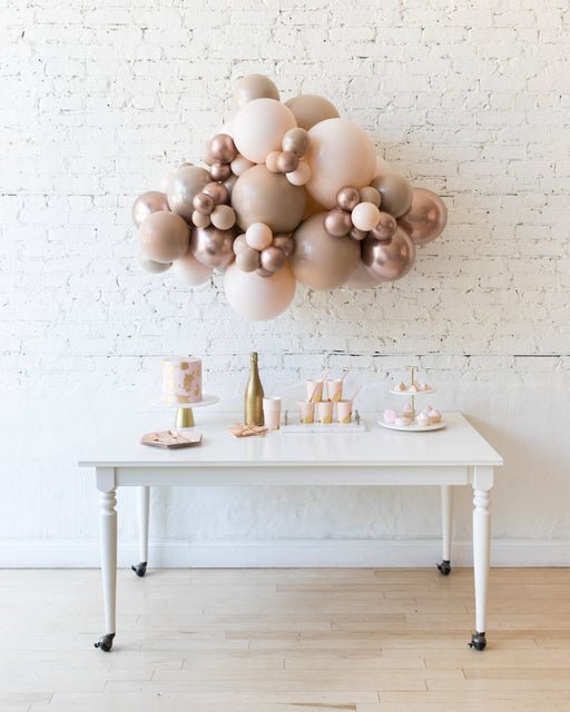 Glam Tan - Backdrop Balloon Garland Install Piece - 3ft