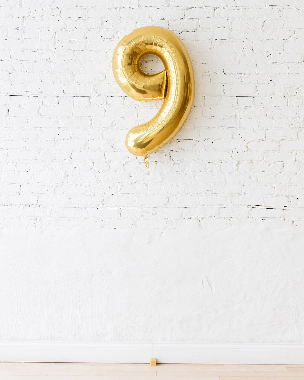 34in Gold Foil Number