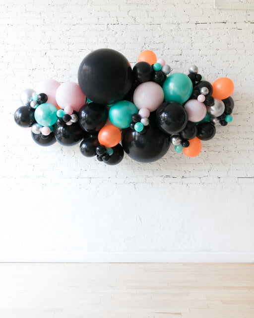 OUTDOOR - Halloween Theme - Balloon Garland - 6ft