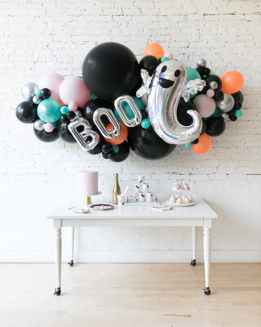 Halloween Theme - BOO Balloon Garland - 6ft