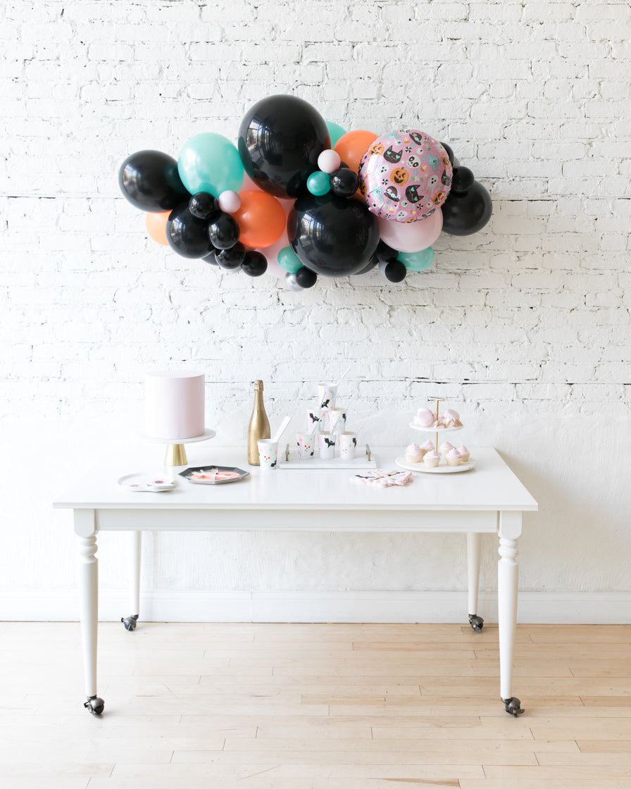 Halloween Theme - Balloon Garland with Foil - 3ft