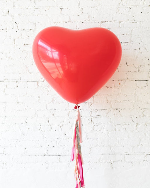 Large Red Heart Balloon