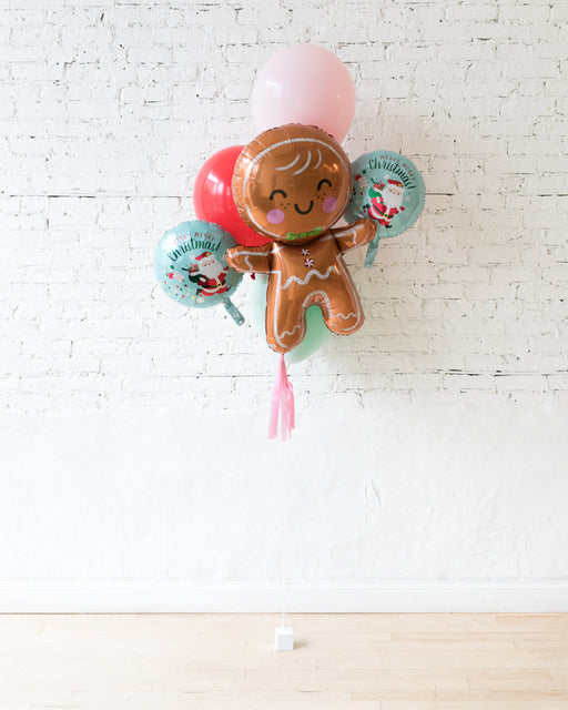 GIFT-Holiday Theme - Foil and 11in Latex Balloon Bouquet