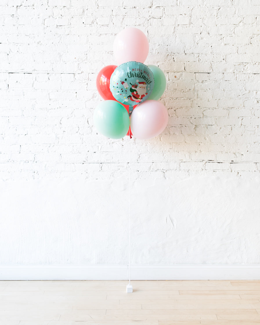 GIFT-Holiday Theme - Merry Christmas Balloon Bouquet