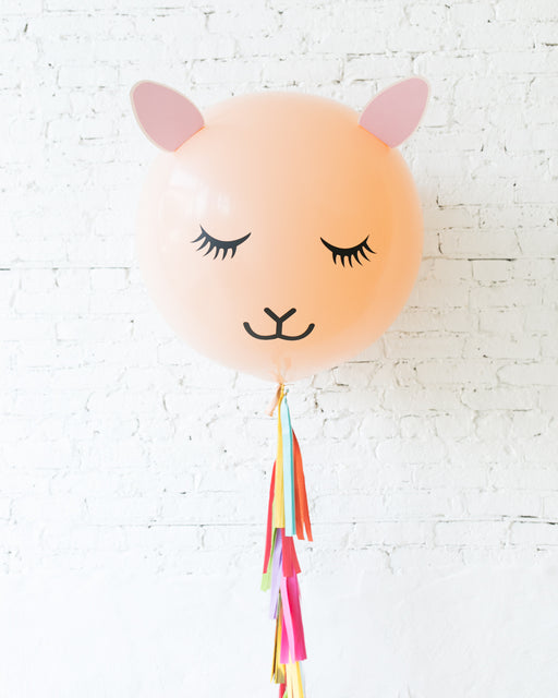 Llama Specialty Giant Balloon with Tassel