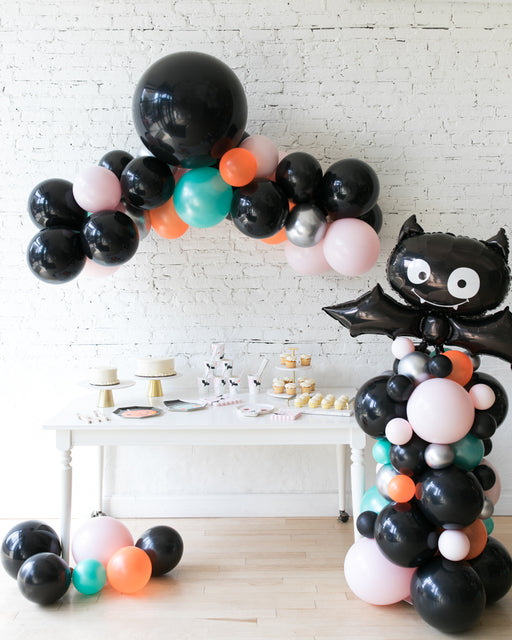 Halloween Theme - Floating Arch & Bat Column Set