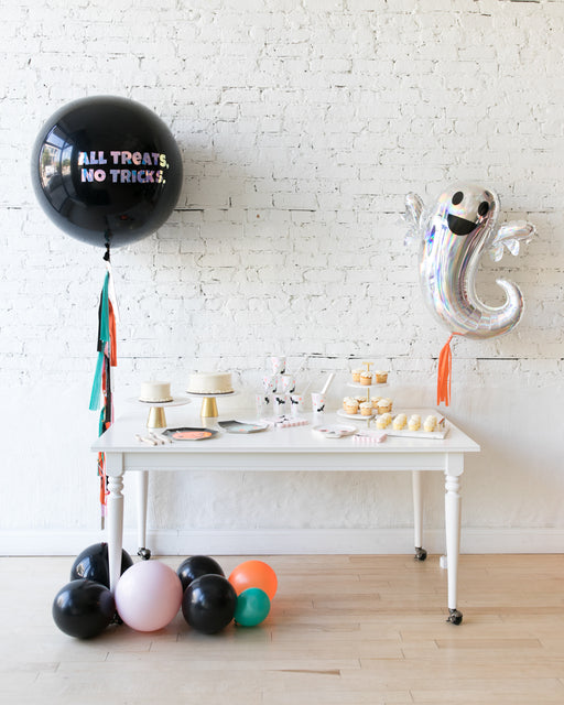 Halloween Theme - Ghost Foil & Specialty Giant Balloon Set