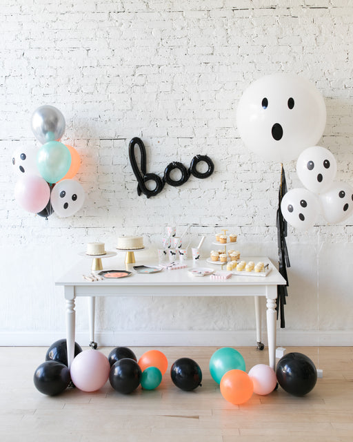 Halloween Theme - Script, Bouquets & Giant Ghost Balloon Set