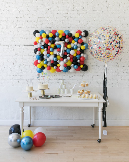 Superhero Theme - Balloon Board & Confetti Giant Set
