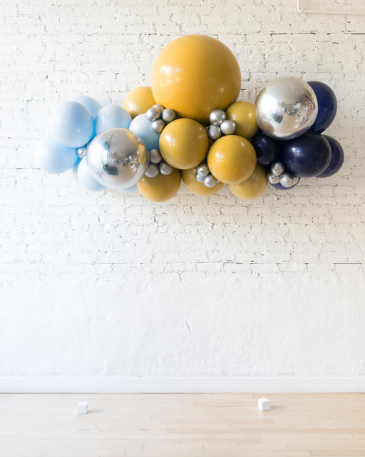 Mid Century Hues - Floating Balloon Arch - 5ft