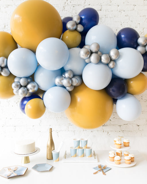 Mid Century Hues - Backdrop Balloon Garland Install Piece - 6ft