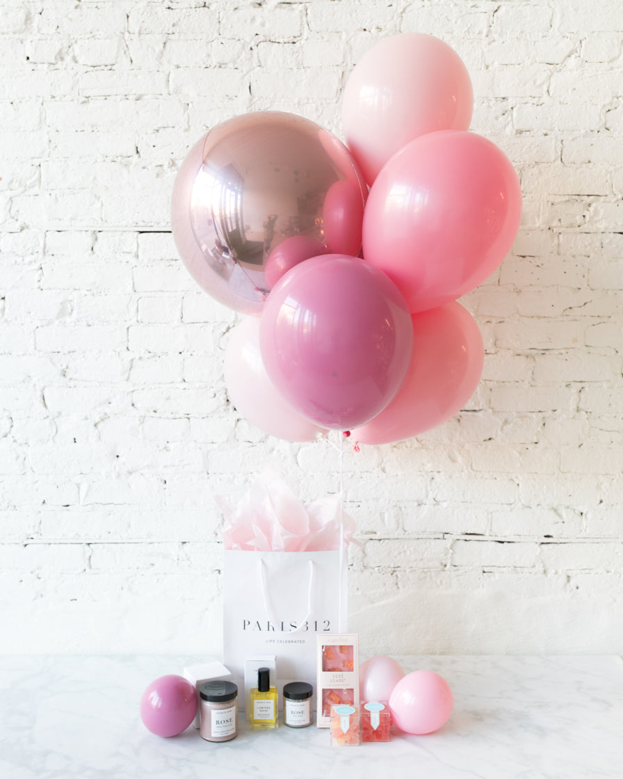 GIFT-French Girl Beauty & Balloon Set