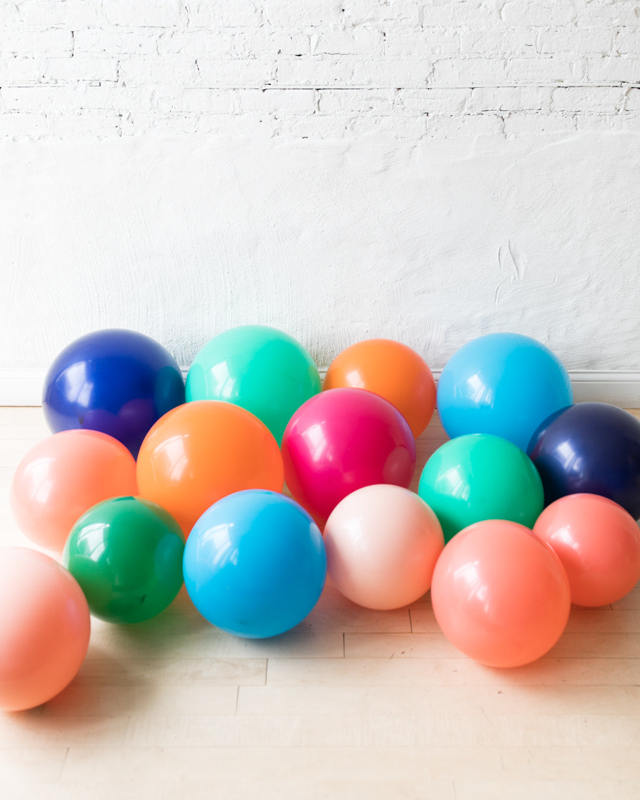 Party Animal Theme - Floor Balloons - set of 15