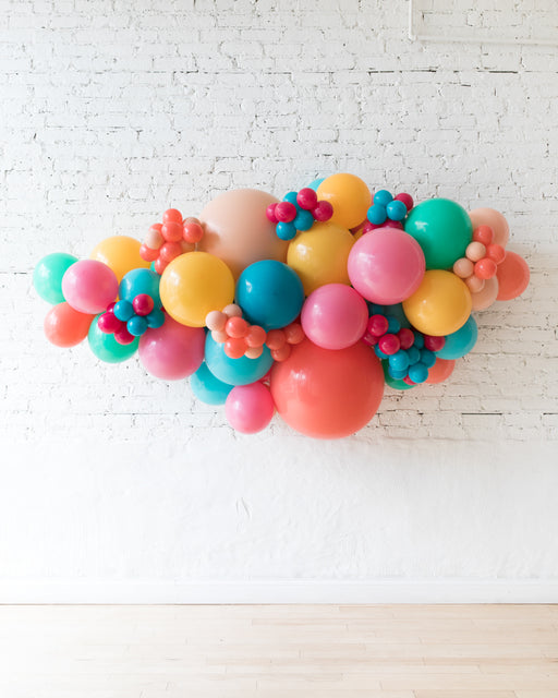 OUTDOOR-Tropical Mix Theme Balloon Garland
