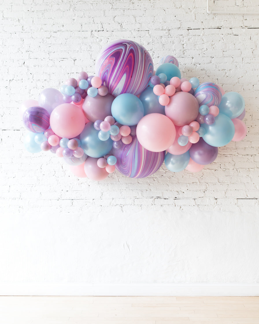 OUTDOOR-Unicorn Theme Balloon Garland