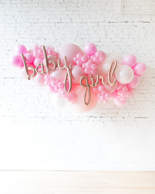 OUTDOOR-Baby Girl Soft Pink Palette Balloon Garland