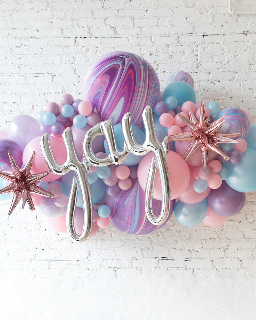 OUTDOOR-YAY Unicorn Theme Balloon Garland