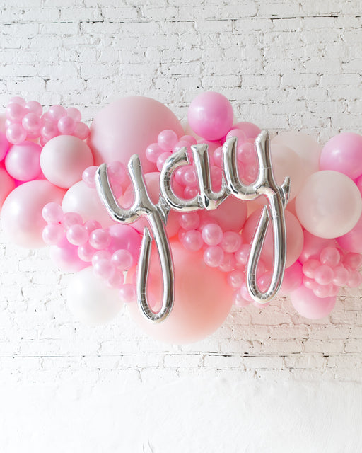 OUTDOOR-YAY Soft Pink Palette Balloon Garland
