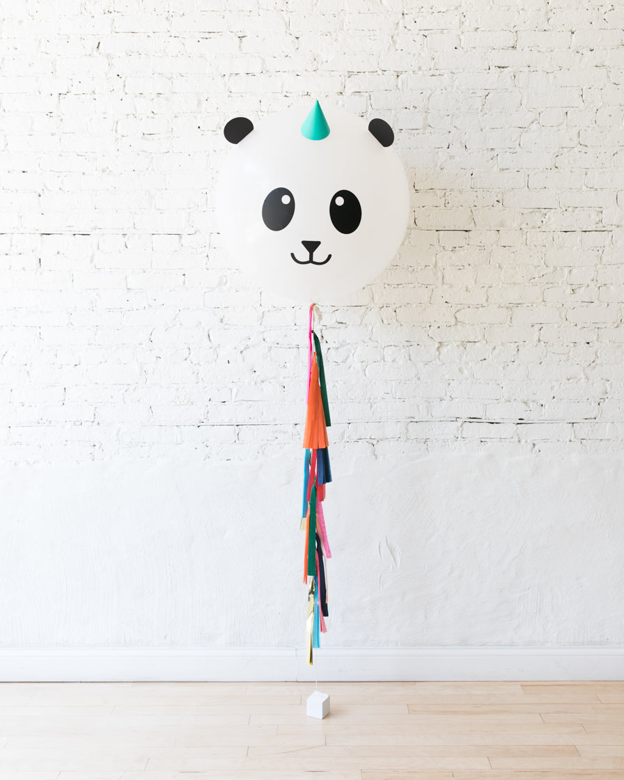 GIFT-Panda Specialty Giant Balloon with Tassel