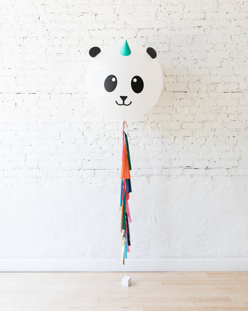 Panda Specialty Giant Balloon with Tassel