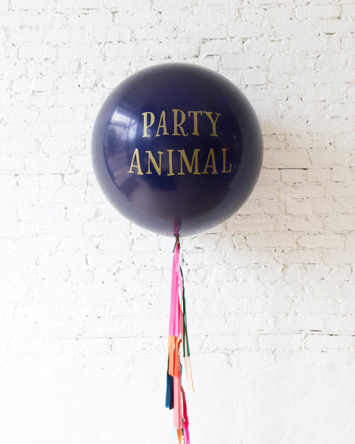 PARTY ANIMAL Giant Balloon with Tassel