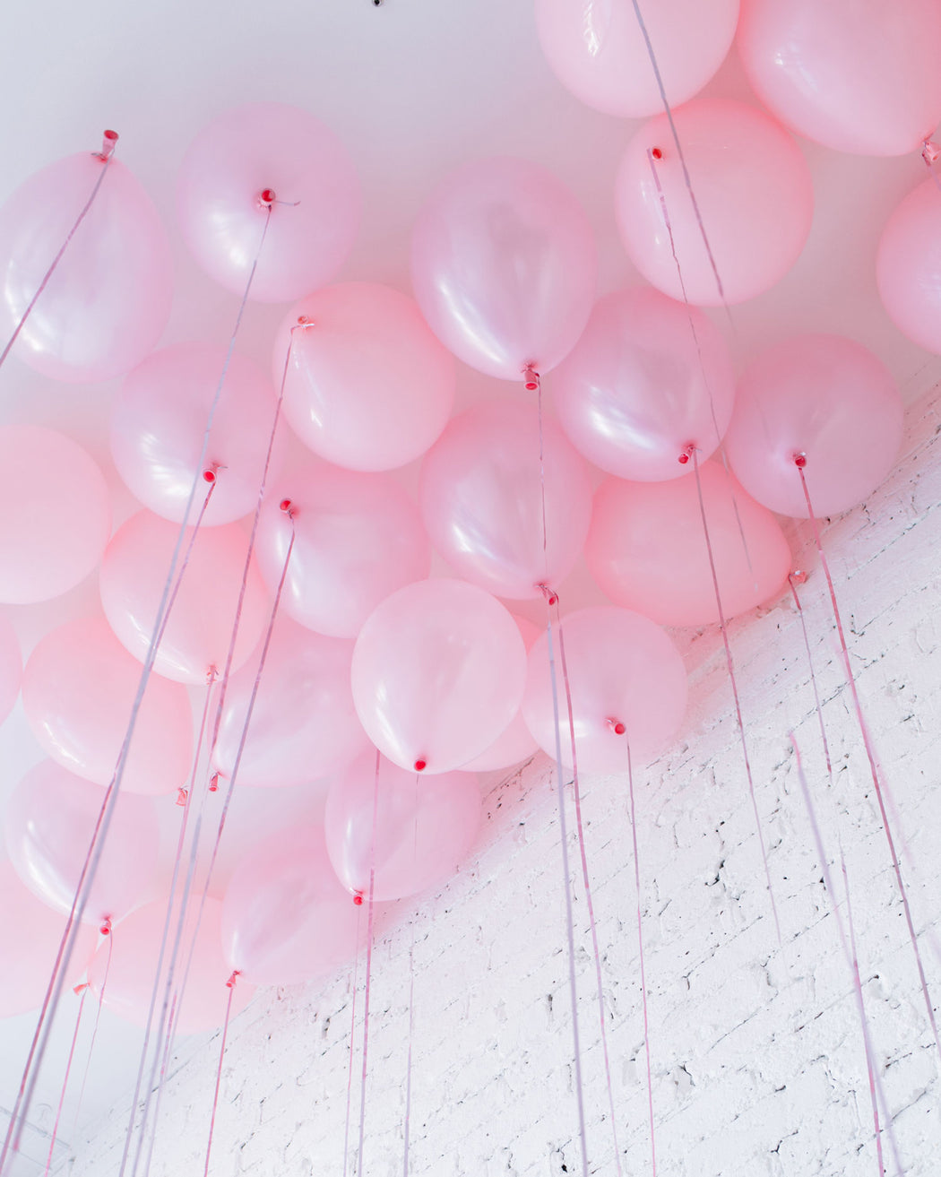 Pink Palette 11in Ceiling Balloons - set of 25