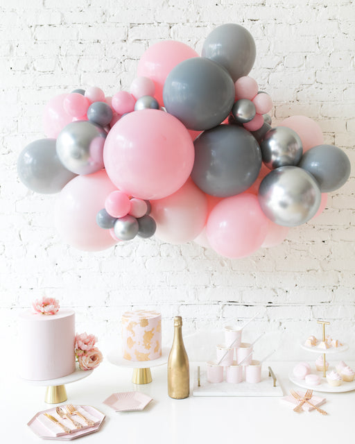 Pink Chic - Backdrop Balloon Garland Install Piece - 3ft