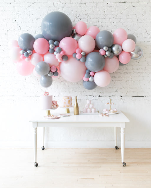 Pink Chic - Backdrop Balloon Garland Install Piece - 6ft