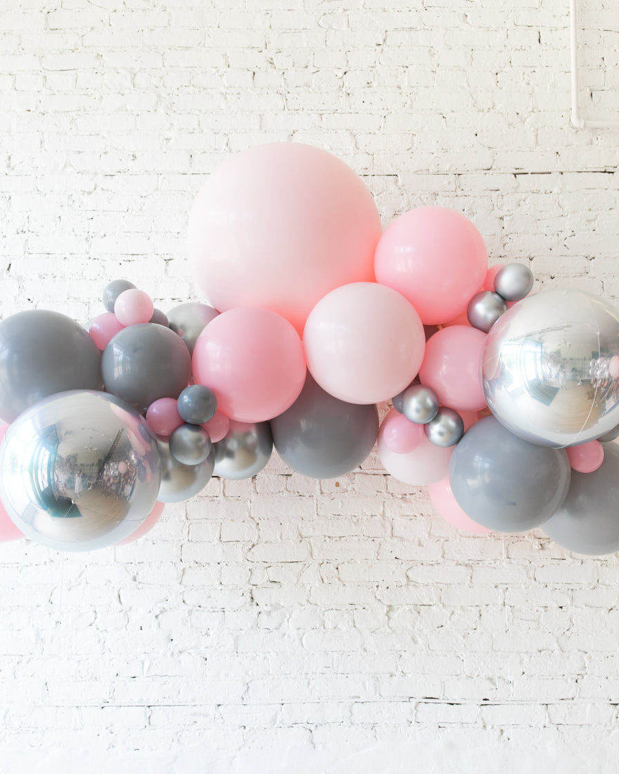 Pink Chic - Floating Balloon Arch - 5ft