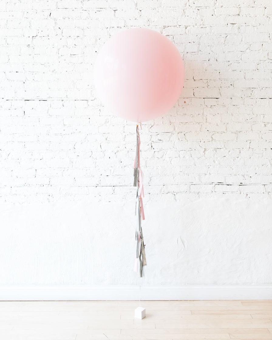 Pink Chic - Giant Balloon and Tassel