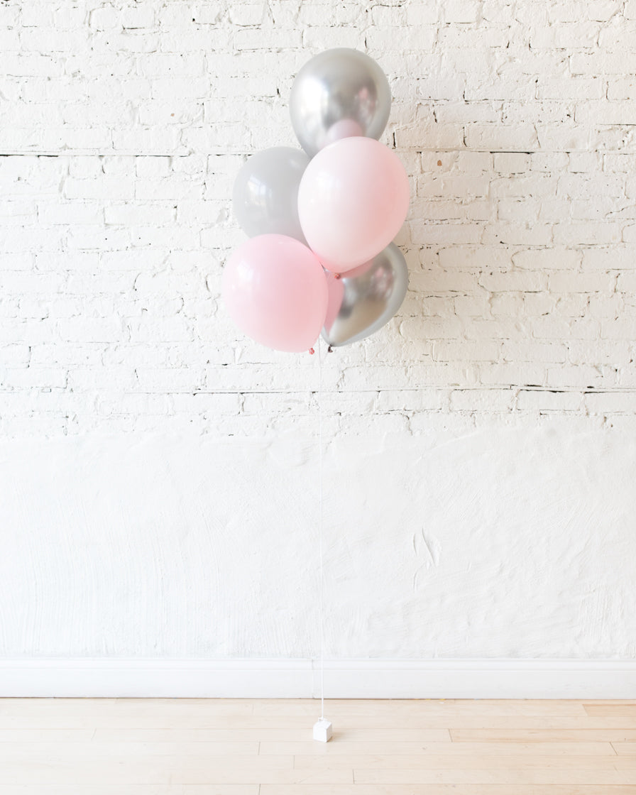 Pink Chic - 11in Balloons - bouquet of 5