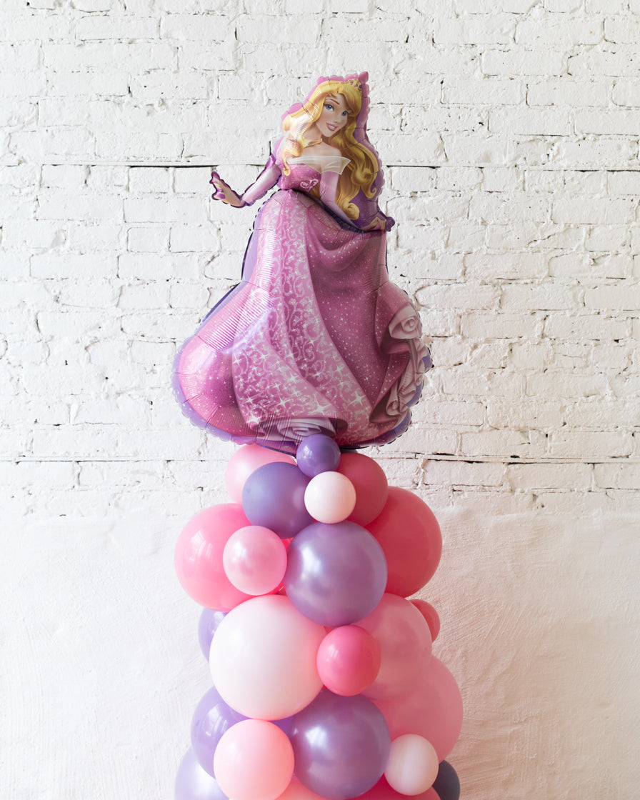 Princess Theme Sleeping Beauty Balloon Column - small