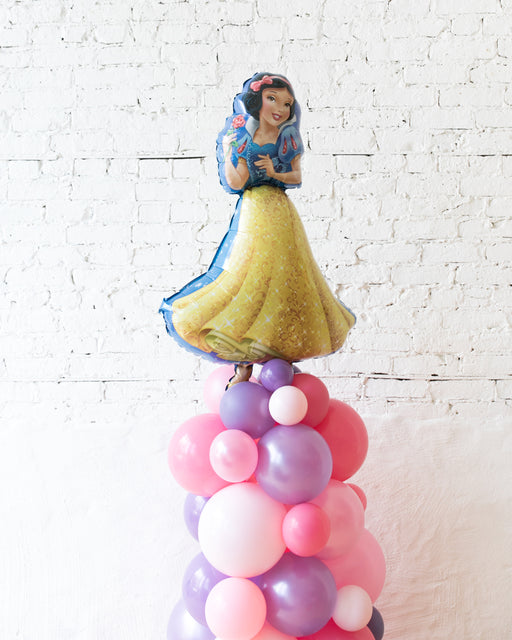 Princess Theme Snow White Balloon Column - small