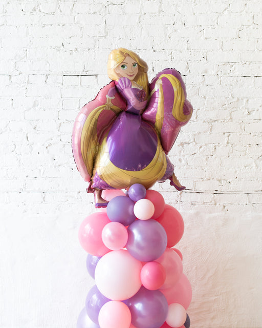 Princess Theme Rapunzel Balloon Column - small