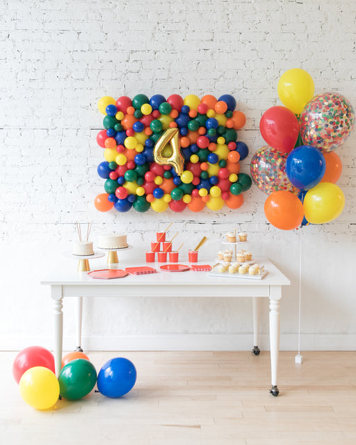 Sesame Street Theme -  Balloon Board & Confetti Bouquet Set