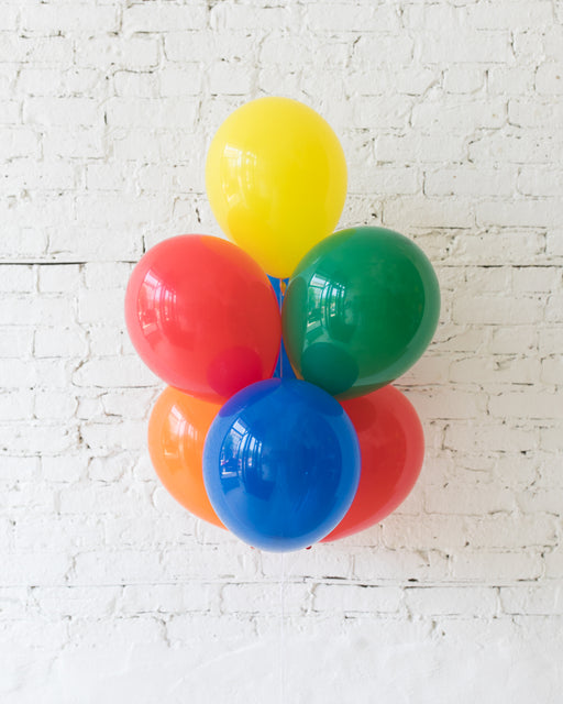 Sesame Street Theme - 11in Balloons - bouquet of 7